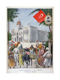 The Egyptian Pavilion at the Universal Exhibition of 1900, Paris, 1900 Giclee Print