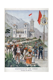 The Monaco Pavilion at the Universal Exhibition of 1900, Paris, 1900 Giclee Print