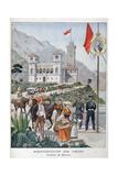 The Monaco Pavilion at the Universal Exhibition of 1900, Paris, 1900 Giclee Print