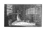 Female Silk Worker, Spitalfields, London, 1833 Giclee Print