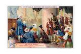 Mozart Listening to Allegri's Miserere, 1771 Giclee Print