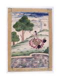 Gujari Ragini, Ragamala Album, School of Rajasthan, 19th Century Giclee Print