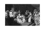 Marriage of the Princess Royal and Emperor Frederick III, 25 January 1858 Giclee Print by John Phillip