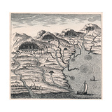 Circulation of Water Between Sea and Mountains, 1665 Giclee Print