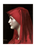 Fabiola, 1885 Giclee Print by Jean Jacques Henner