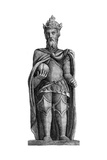 Statue of Charlemagne (712-81), St Julien Le Pauvre, Paris, 11th-12th Century Giclee Print
