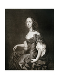 Bridget Cromwell, Eldest Daughter of Oliver Cromwell, 17th Century Giclee Print by Peter Lely