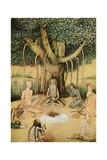 Asceticism: a Group of Mughal Ascetics Reproduction procédé giclée