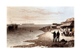 Laying of the Telegraph Cable across the Indian Ocean Between Bombay and Aden, 1870 Giclee Print