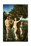 Original Sin: the Fall of Adam and Eve, C1467-1468 Giclee Print by Hugo van der Goes