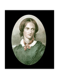 Charlotte Bronte, English Novelist, Mid-19th Century Giclee Print by George Richmond