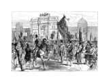 Demonstration of the Paris Freemasons, France, 1870 (Late 19th Centur) Giclee Print