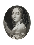 Mrs Claypole (Elizabeth Cromwel), Second Daughter of Oliver Cromwell, 17th Century Giclee Print by Samuel Cooper