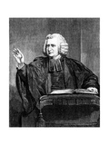 Charles Wesley, 18th Century English Preacher and Hymn Writer Giclee Print by William Hamilton
