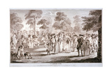 St James's Park, Westminster, London, 1783 Giclee Print by Henry William Bunbury