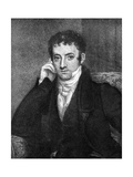 Washington Irving (1783-185), American Author, 19th Century Giclee Print