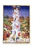 Building the Tower of Babel Giclee Print