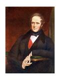 Henry John Temple, 3rd Viscount Palmerston, British Statesman, 1846 Giclee Print by John Partridge