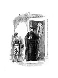 The Young Galileo and Ostilio Ricci Giclee Print