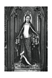 St Ursula and the Holy Virgins, from the Reliquary of St Ursula, 1489 Gicléetryck av Hans Memling