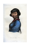 Woman of the Aleutian Islands, 1848 Giclee Print