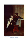Prince Arthur and Hubert, 19th Century Giclee Print by William Frederick Yeames