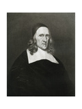 Robert Cromwell, Father of Oliver Cromwell, 17th Century Giclee Print by Robert Walker