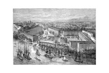 St Katherine's Docks, London, Late 19th Century Giclee Print