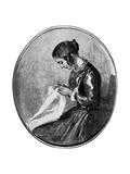 Miss Georgina Hogarth, C1850 Giclee Print by Augustus Leopold Egg
