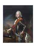 Portrait of Christian August, Prince of Anhalt-Zerbst, (1690-174), 1725 Giclee Print by Antoine Pesne
