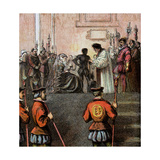 Execution of Mary, Queen of Scots, 1587 Giclee Print