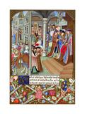 Charles the Bold, Duke of Burgundy, 15th Century Giclee Print