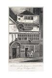 Leadenhall Street, London, 1811 Gicleetryck av John Nixon
