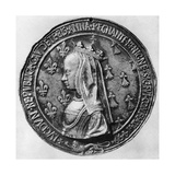 Anne of Brittany, 1499 Giclee Print by Jean Lepere