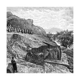 Terrace with Funeral Urns Near Amoy, C1890 Giclee Print