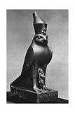 A Horus Falcon with King Nectanebo I (380 Bc-362 B), C370 BC Giclee Print