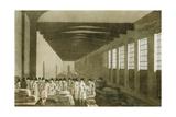 Interior of the Cloth Hall, Leeds, 1814 Giclee Print