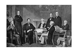 The First Reading of the Proclamation of Emancipation, 1863 Giclee Print by Francis Carpenter