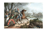 Battle of Albuera, Peninsular War, May 1811 Giclee Print by William Heath