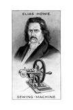 Elias Howe, American Sewing Machine Pioneer Giclee Print