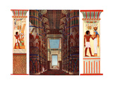 Hall of Columns in the Great Temple of Karnak, Egypt, 1933-1934 Giclee Print