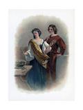 Florizel and Perdita, 1891 Giclee Print by Charles Robert Leslie