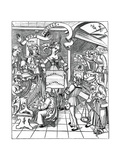 Personification of Music, with the Auxiliaries, the Poet and Musicians, 1508 Giclee Print
