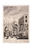 A Cornish Hug, 1781 Giclee Print by John Nixon