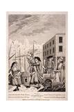 A Cornish Hug, 1781 Gicléetryck av John Nixon