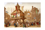 The Shakespeare Jubilee at Stratford Upon Avon, C1850 Giclee Print