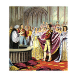 Marriage of Queen Victoria, 1840 Giclee Print