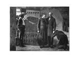 Last Moments of the Emperor Maximilian, 1867, (Late 19th Centur) Giclee Print by Jean-Paul Laurens