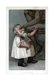 He Thinks in Marble, Jehu Junior, 1904 Giclee Print by Auguste Rodin