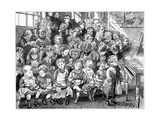 Children Waiting for Soup at Dinner Time, London Board School, Denmark Terrace, Islington, 1889 Giclee Print